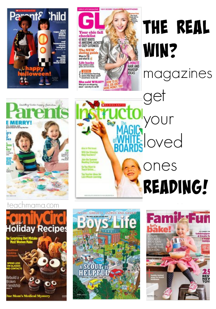 magazines for whole family  teachmama.com