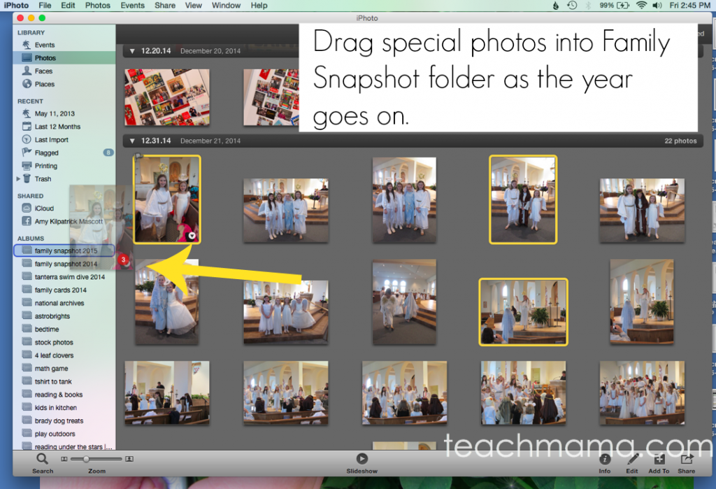 organize photos file system | teachmama.com