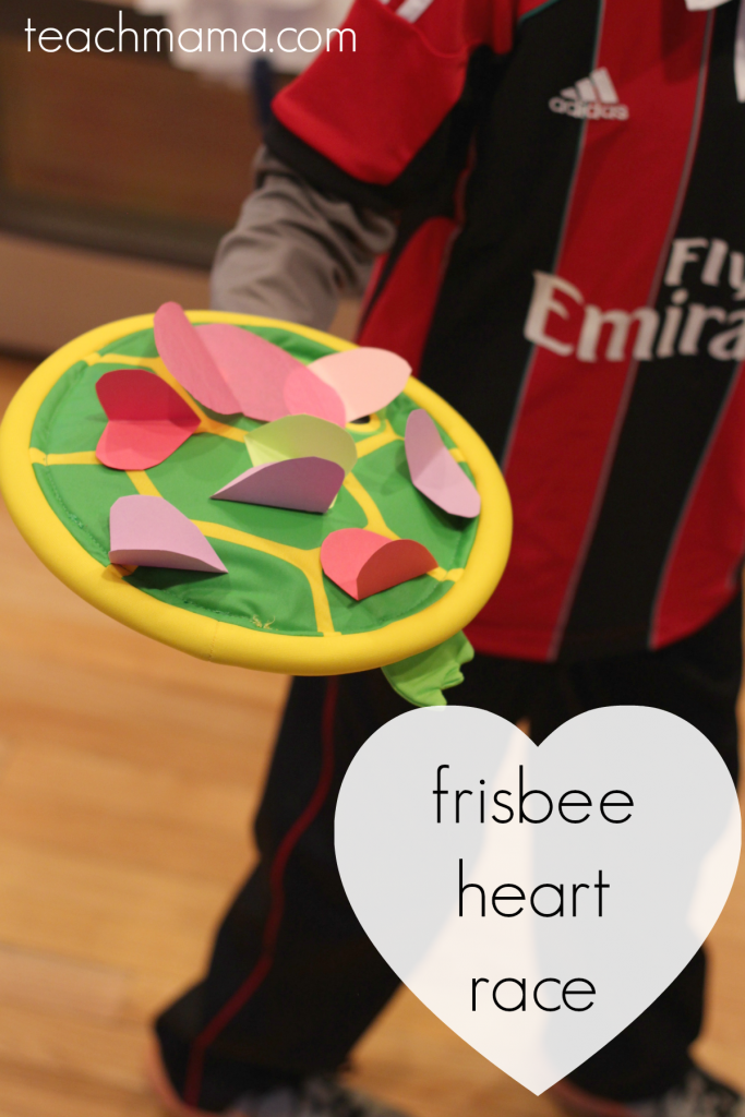 valentine's day class party ideas frisbee  teachmama.com