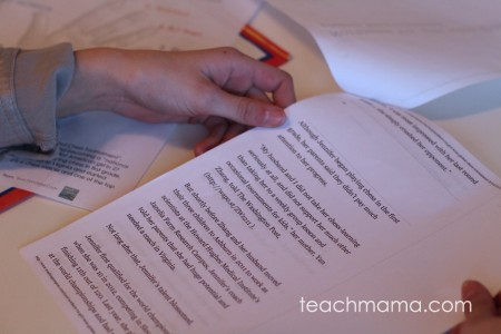 how to teach summary writing: the 1-hand summary | teachmama.com