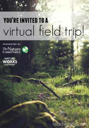 The Nature Conservancy virtual field trip and learning resources: Wild Biomes– From America's Rainforest to America's Desert