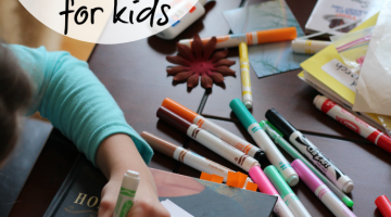 fun, authentic writing for kids: power notes to nana