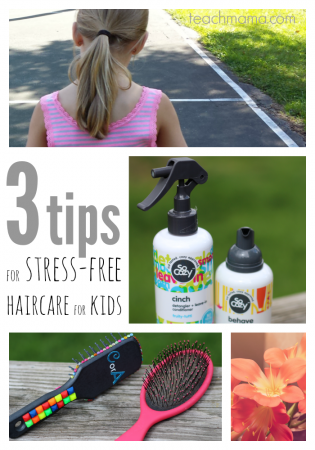stress free haircare for kids | teachmama.com