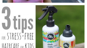 haircare stress and kids: eliminate the stress with these three tips