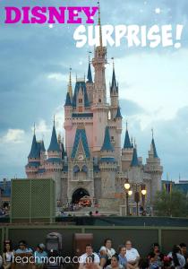 Disney SUPRISE | teachmama.com