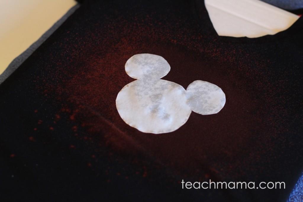 bleached out disney t-shirts | teachmama.com