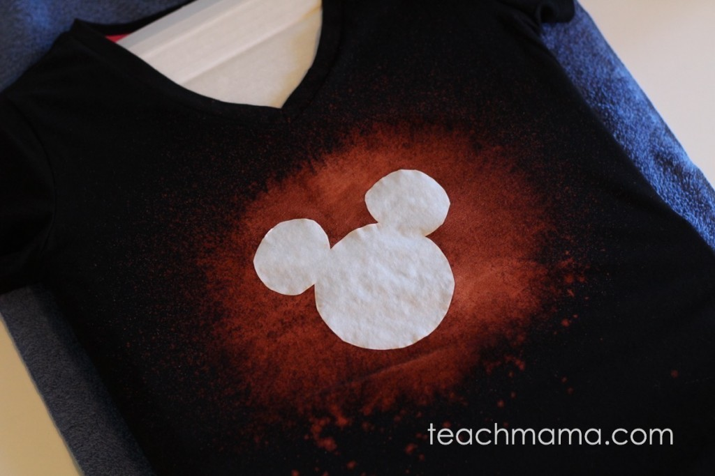 bleached out disney t-shirts | teachmama.com