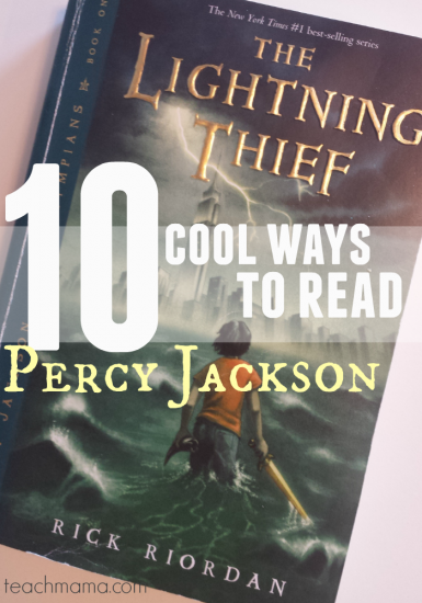 10 cool ways to read the Percy Jackson series