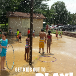 get kids to play outside: 4 tips for summertime playground fun