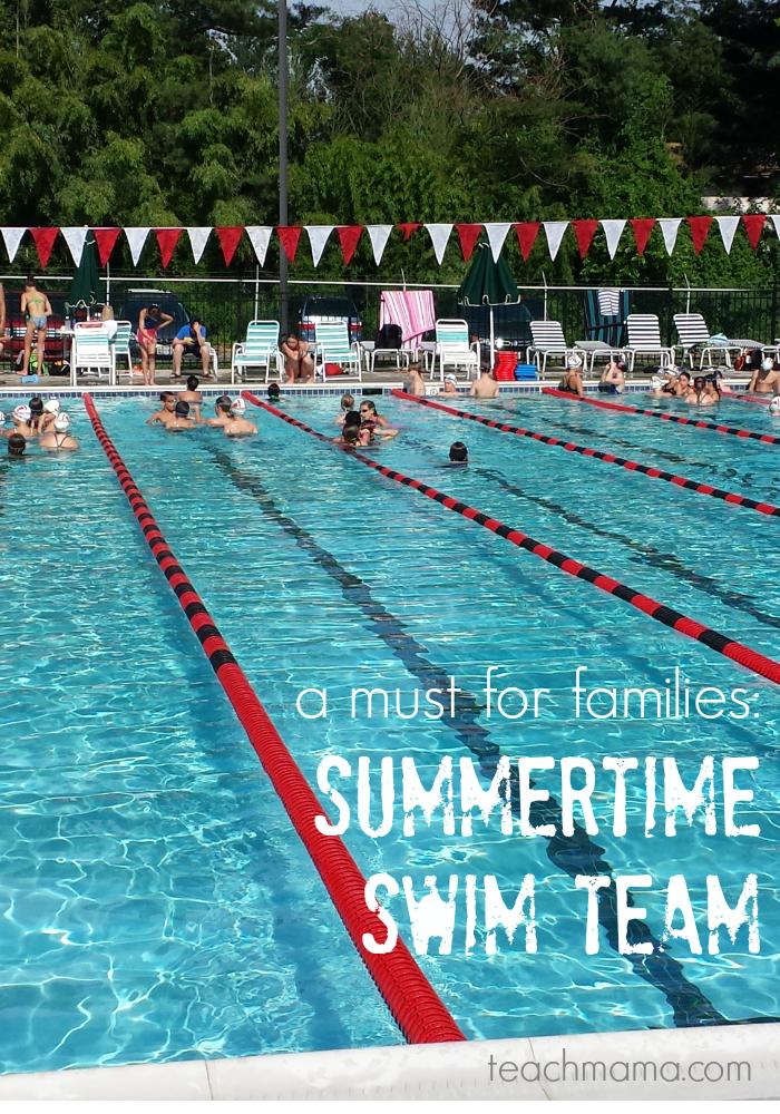 summertime swim team | teachmama.com