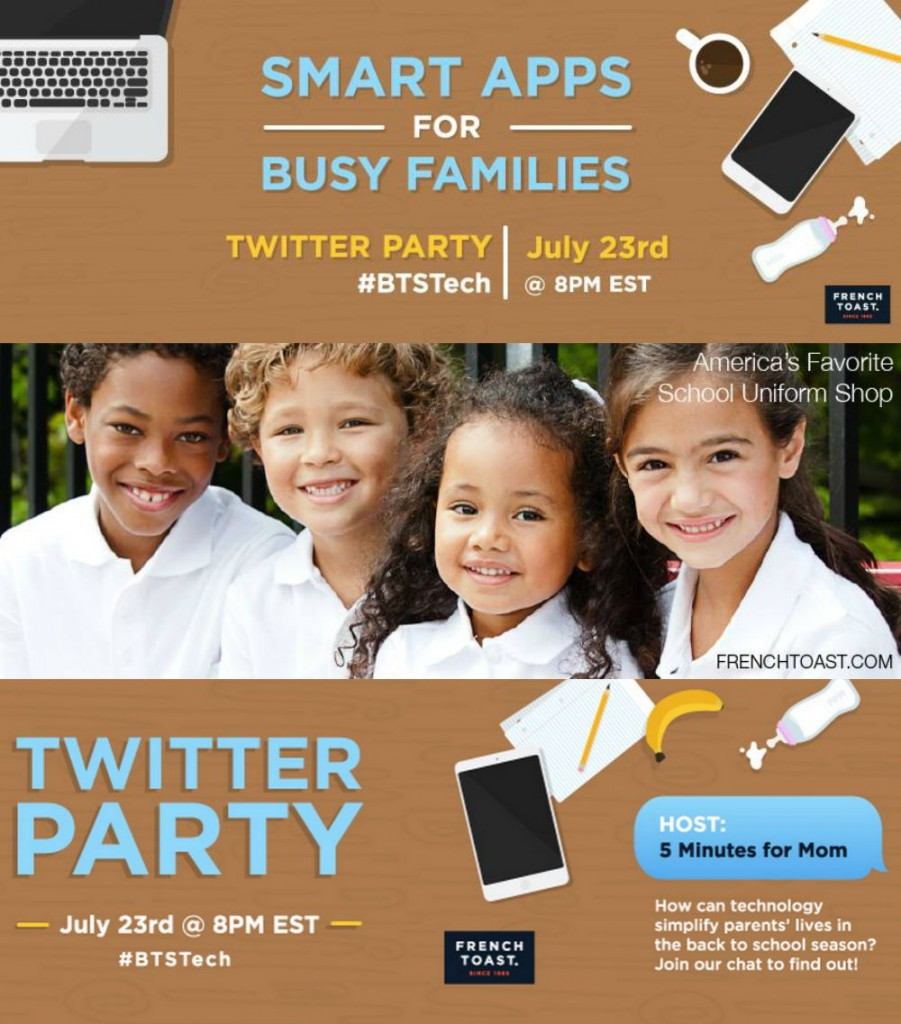 smart apps for busy families: get ready for back to school! #BTSTech chat