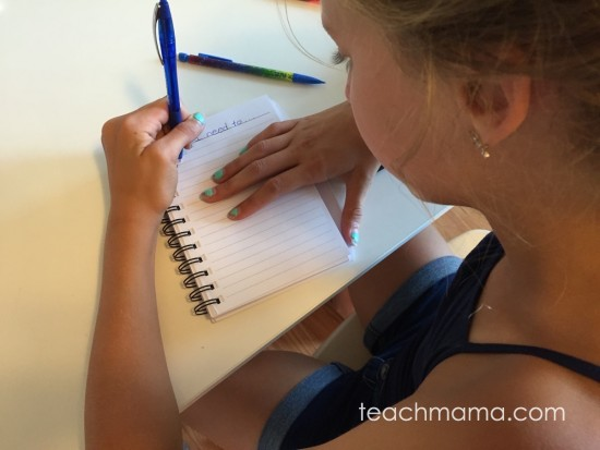 get kids to write | teachmama.com