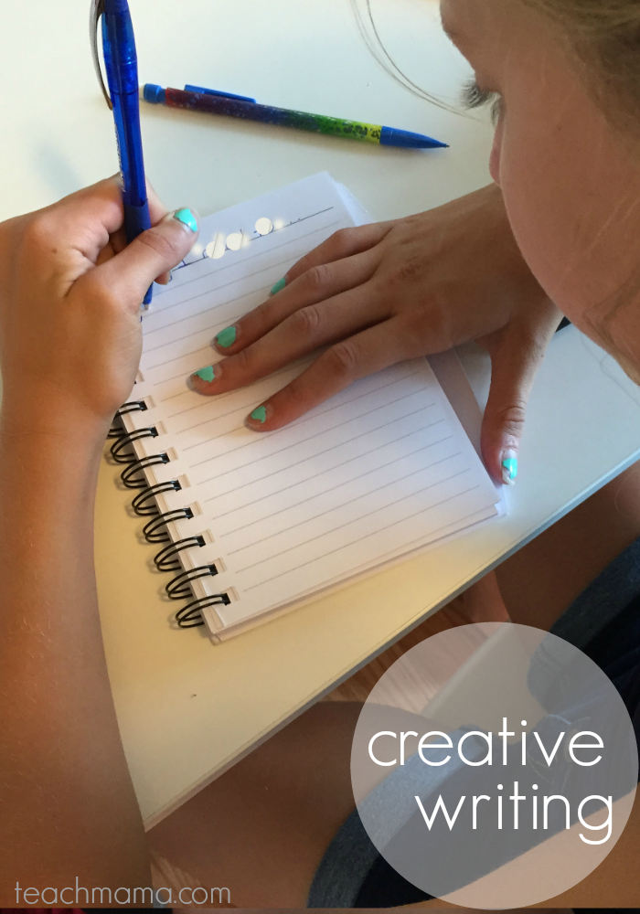 get kids writing | creative | teachmama.com