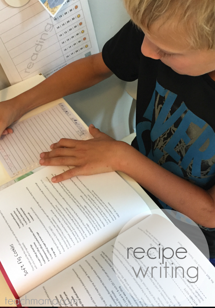 get kids writing | recipa | teachmama.com