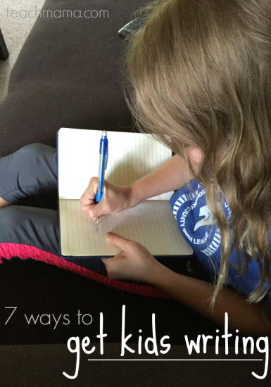 7 ways to get kids writing (and cool writing prompts for kids!)