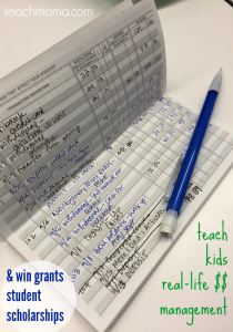 teach kids real life money management win grants and scholarships teachmama.com