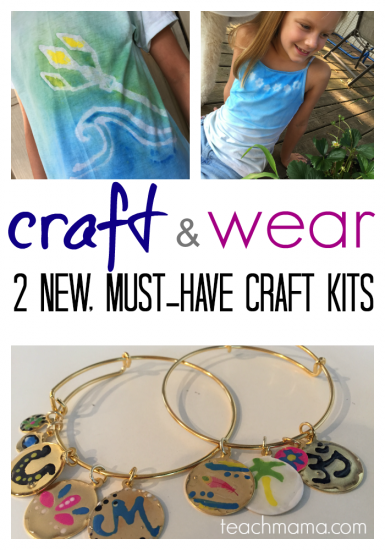 craft and wear: 2 new, must-have craft kits for kids