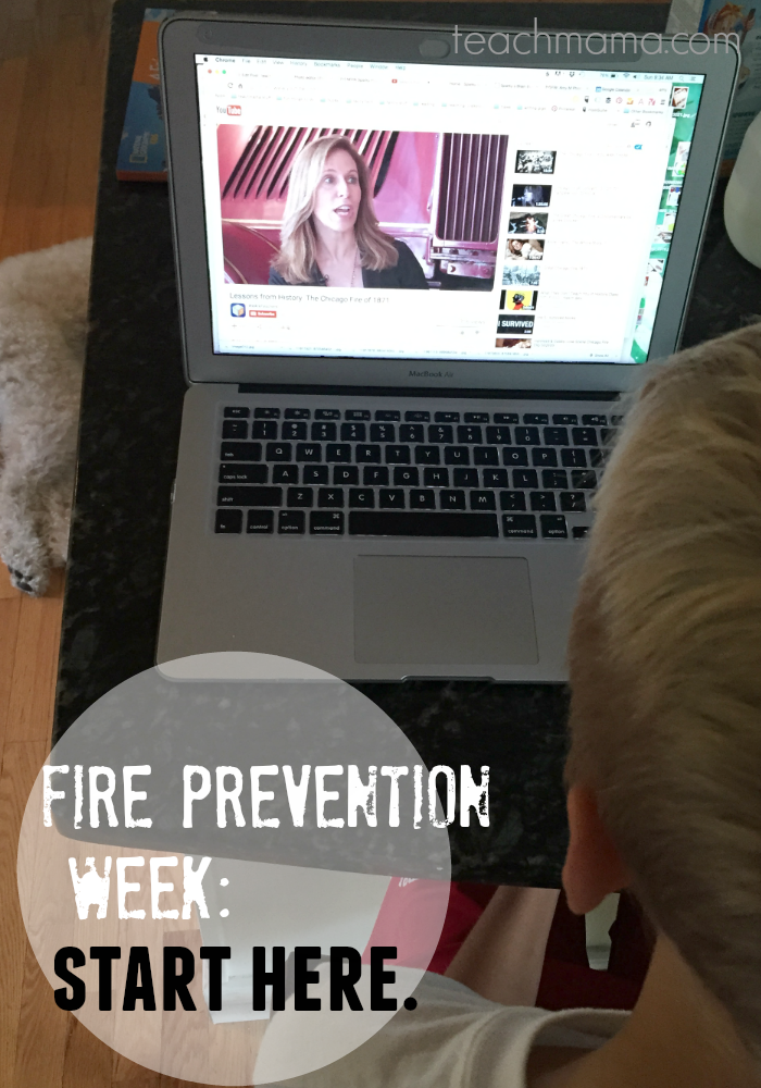 fire prevention week resources | teachmama.com