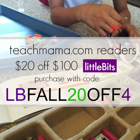 little bits coupon code teachmama