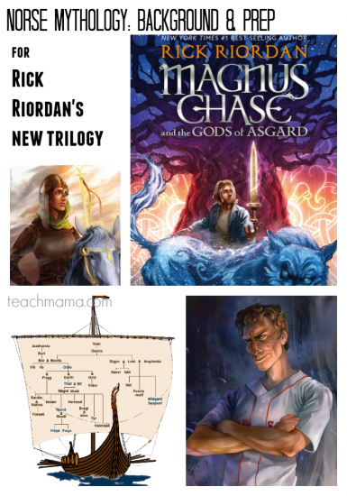 Norse Mythology 101: prep and background for reading Magnus Chase and the Gods of Asgard by Rick Riordan