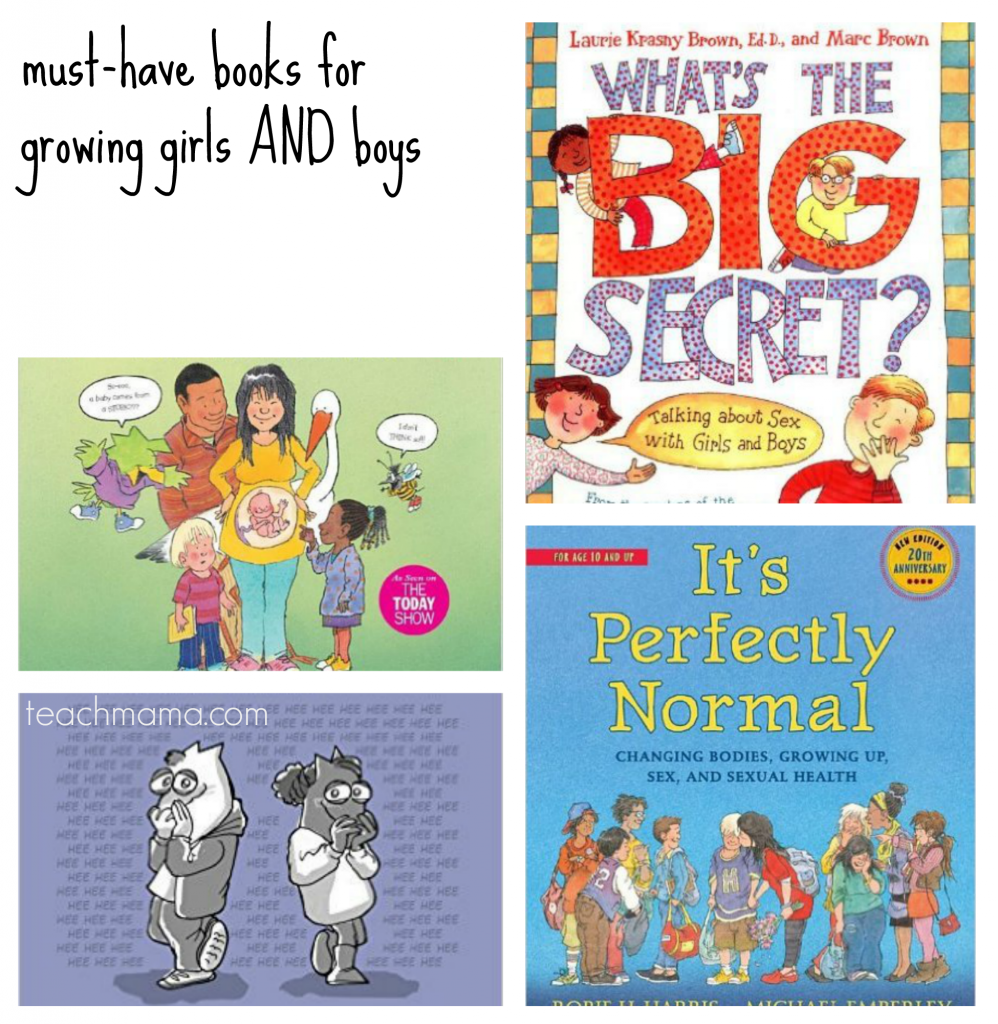 books about puberty, sex and everthing for boys and girls teachmama.com 10