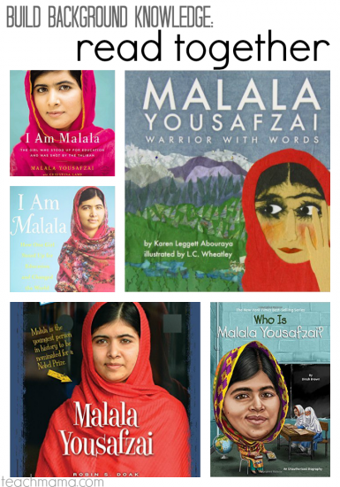 background and resources: he named me malala