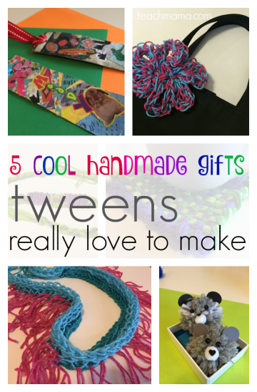 5 cool handmade gifts tweens love to make | teachmama.com