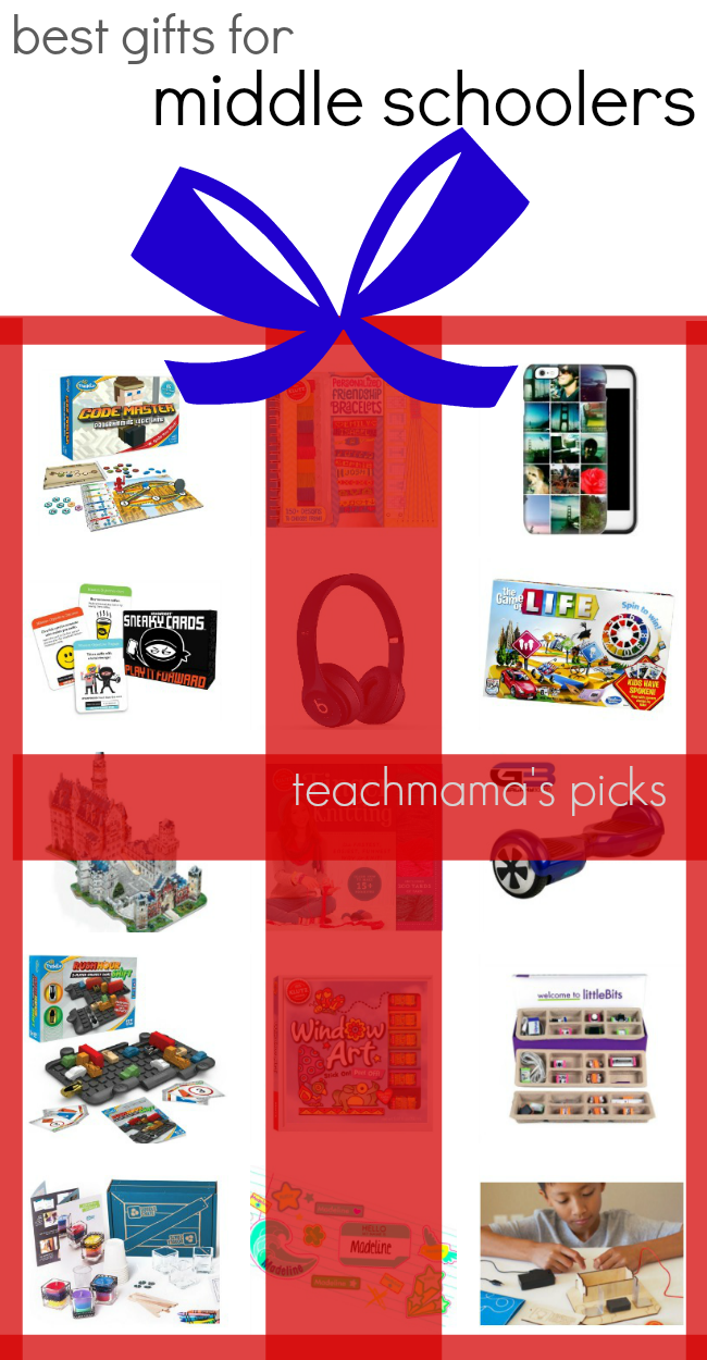 best gifts for middle schoolers | teachmama.com | teachmama's picks
