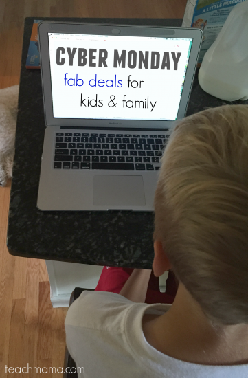 cyber monday deals for kids and family