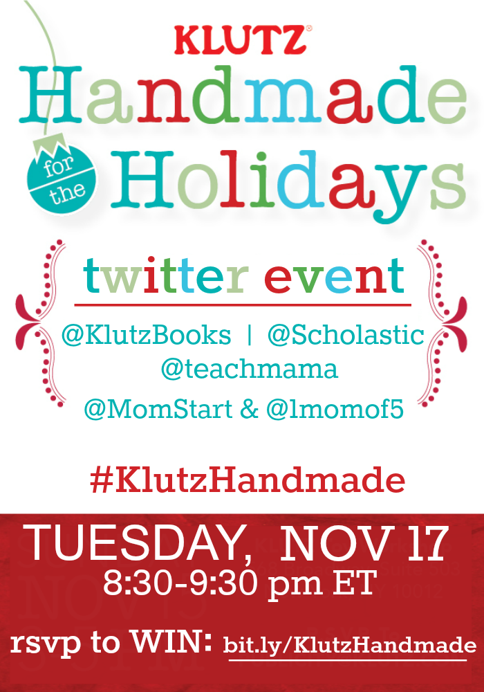 klutz twitter event #klutzhandmade