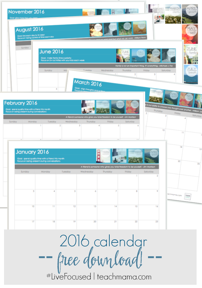 free calendar download 2016 teachmama.com