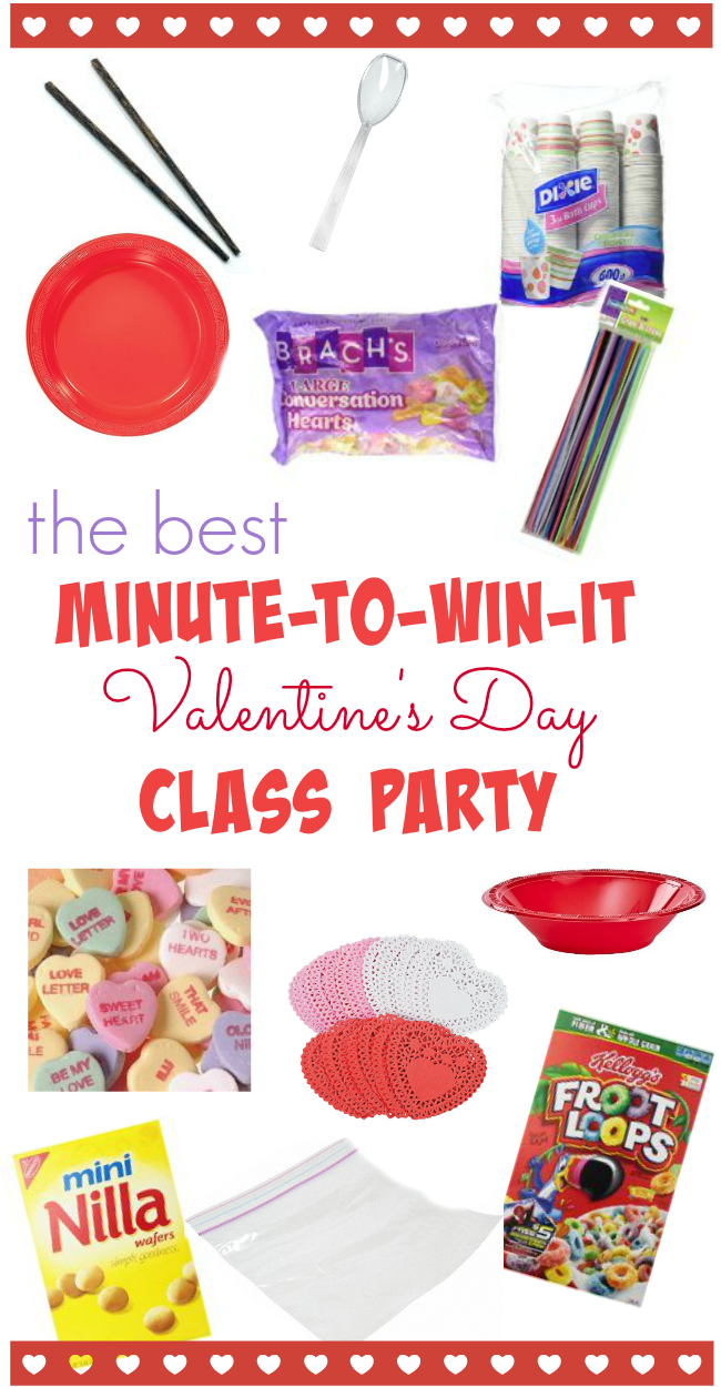 minute to win it class party | teachmama.com