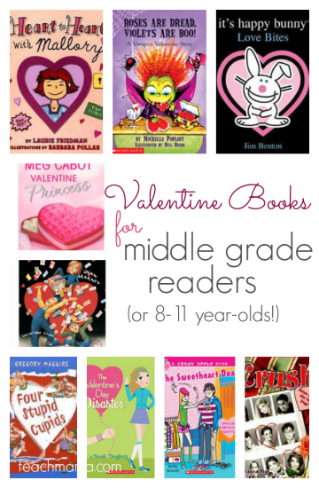 valentine's day books for middle grade readers