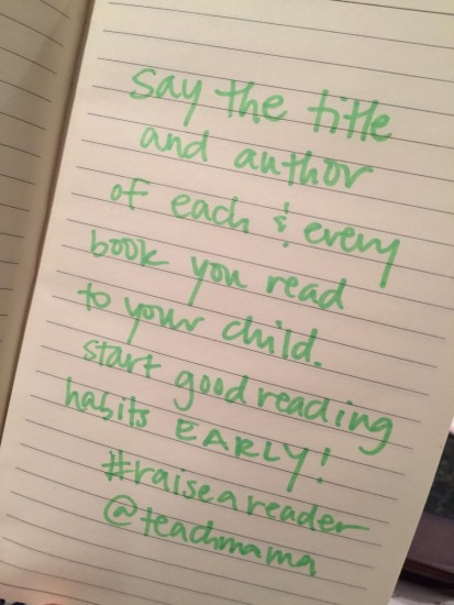 raise a reader: daily reading tips