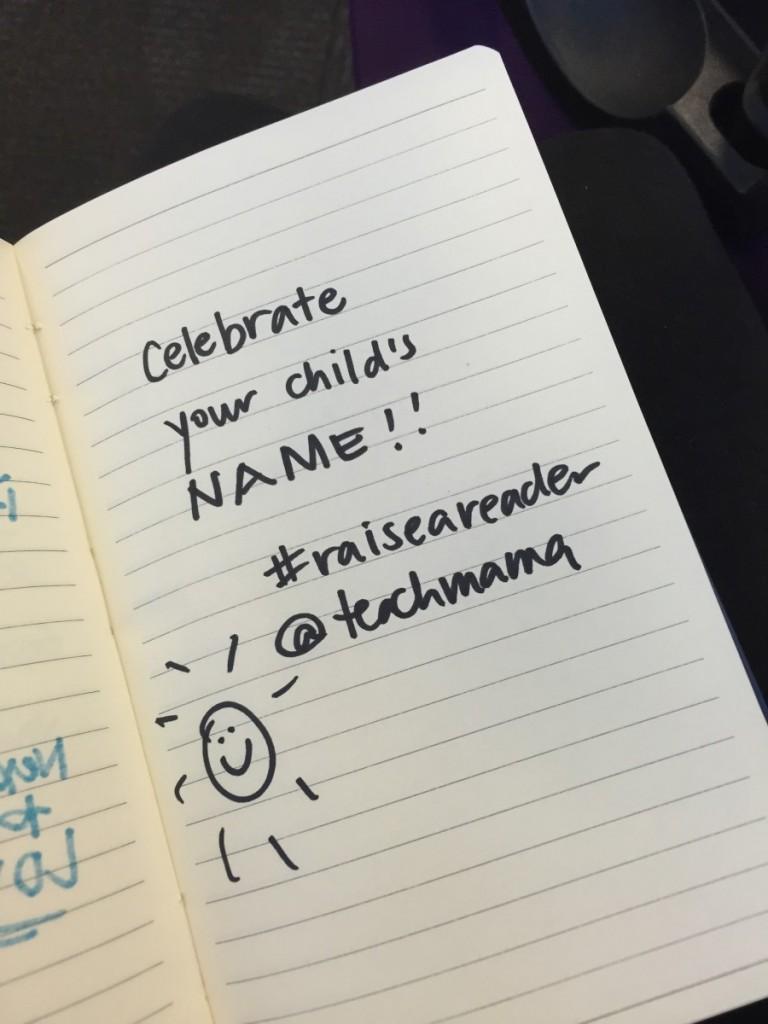 reading tip 5: celebrate names   teachmama.com