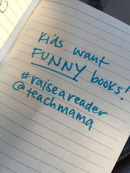reading tip 6: laugh! #raiseareader