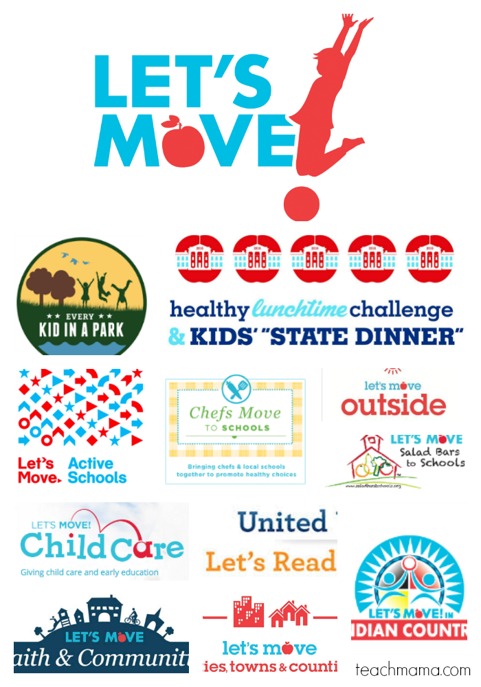 let's move programs and initiatives | teachmama.com