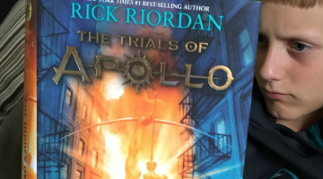 percy jackson fans: The Trials of Apollo is here!