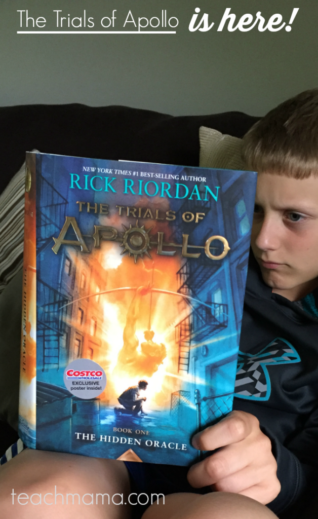 percy jackson fans: The Trials of Apollo is here! #TrialsofApollo