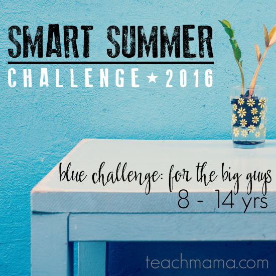 smart summer challenge teachmama.com 2016 blue sq
