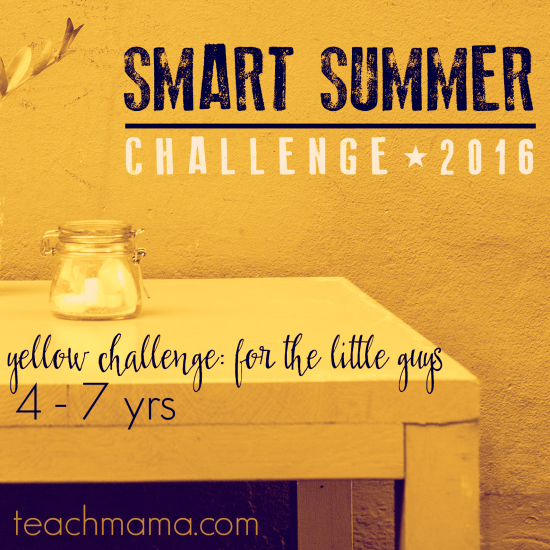 smart summer challenge teachmama.com 2016 yellow b