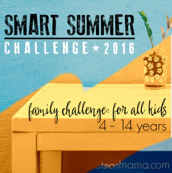 smart summer family challenge teachmama.com