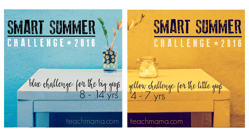 make this summer rock: Smart Summer Challenge 2016!