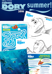 everything you need to make it a 'Finding Dory' summer