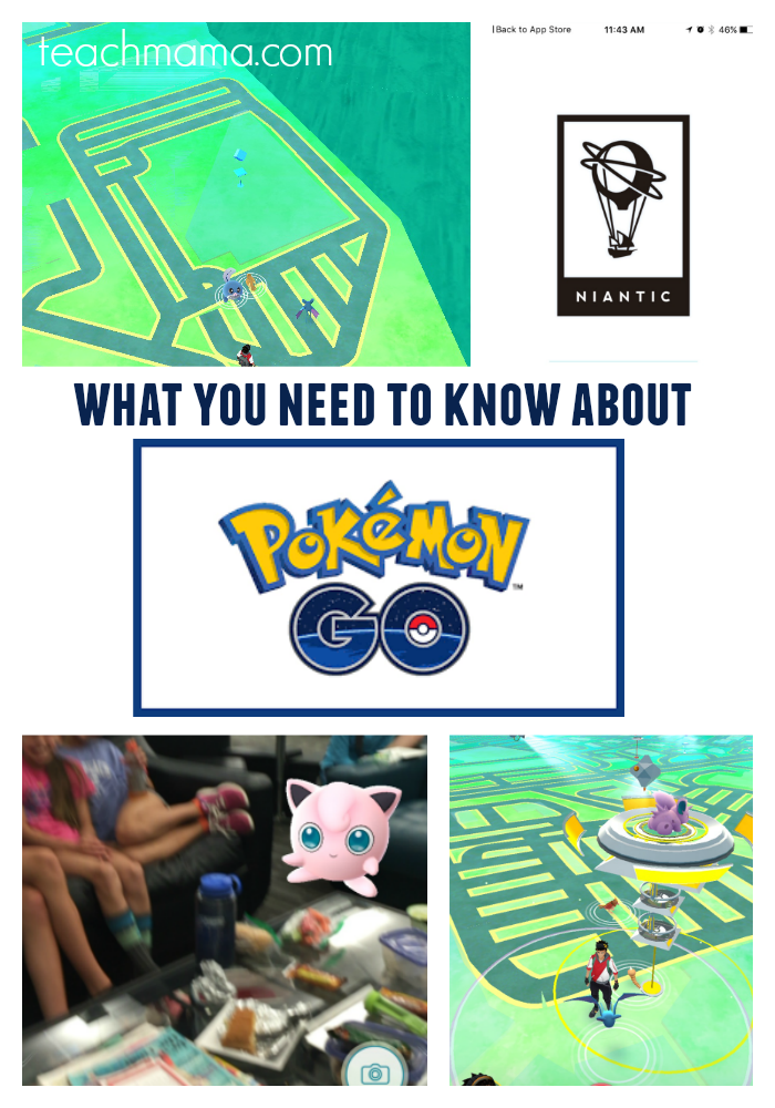 pokemonGO what you need to know teachmama.com