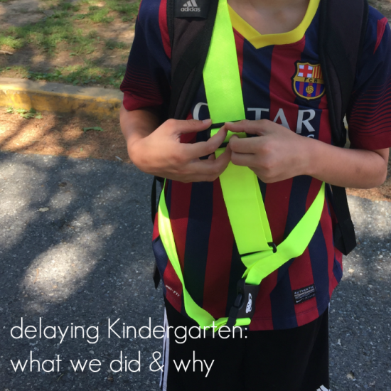 delaying kindergarten what we did and why teachmama.com update fb