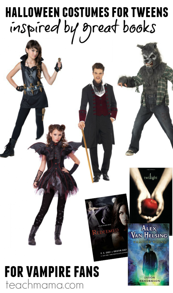 cool halloween costumes for tweens (costumes inspired by great books!) teachmama.com 1