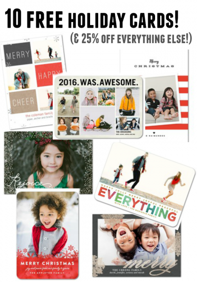 10 free holiday cards (really!): teachmama fab find