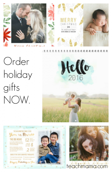 get your holiday cards NOW: for teachmama readers-ONLY!