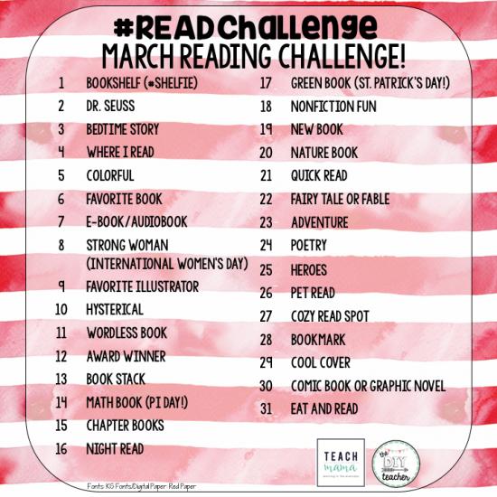 #readchallenge celebrate reading | teachmama.com 4